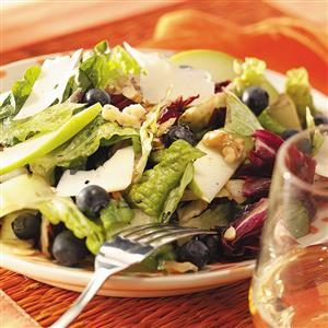 Grilled Mixed Green Salad Recipe