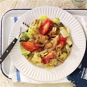 Grilled Romaine Toss Recipe