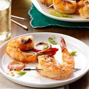 Grilled Seasoned Shrimp Recipe