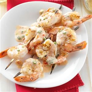 Grilled Shrimp with Spicy-Sweet Sauce Recipe