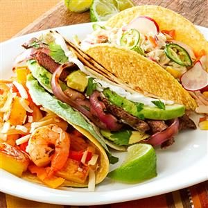 Grilled Steak & Onion Tacos Recipe