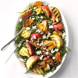 Grilled Stone Fruit Salad