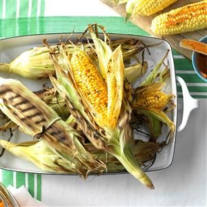 Grilled Sweet Corn Recipe