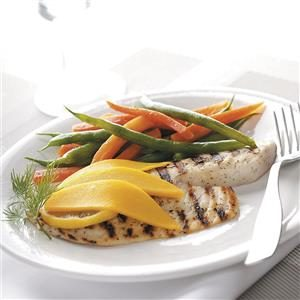 Grilled Tilapia with Mango Recipe