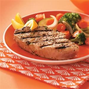 Grilled Tuna Steaks for Two Recipe