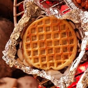 Grilled Waffle Treats Recipe