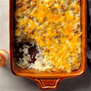 Grits 'N' Sausage Casserole Recipe