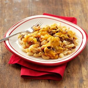 Ground Beef Macaroni Casserole Recipe