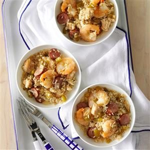 Gulf Coast Jambalaya Rice Recipe