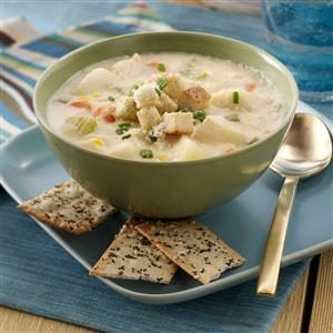 Halibut & Potato Chowder Recipe