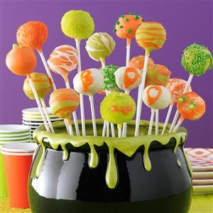 Halloween Cheesecake Pops Recipe