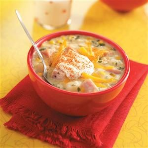 Ham & Corn Chowder Recipe