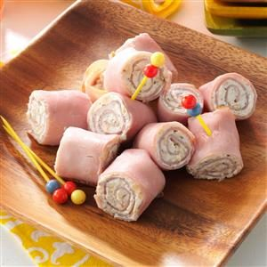 Ham 'N'  Cheese Pinwheels Recipe