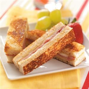 Ham 'n' Cheese Brunch Strips Recipe