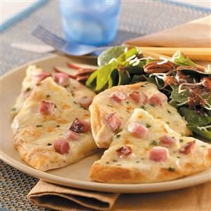 Ham 'n' Cheese Pizzas