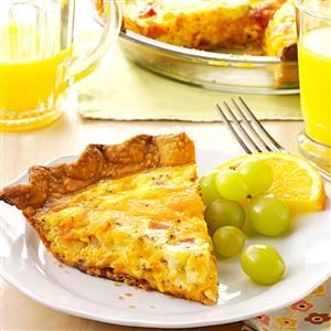 Ham 'n' Cheese Quiche Recipe