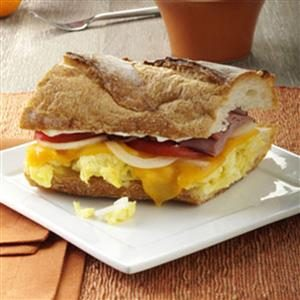 Ham 'n' Egg Sandwich Recipe