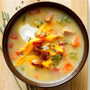 Ham, Potato and Pepper Chowder Recipe