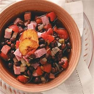 Ham and Black Bean Soup Recipe
