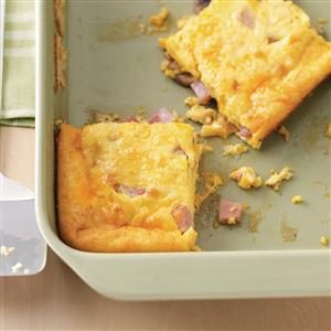 Ham and Egg Breakfast Casseroles Recipe