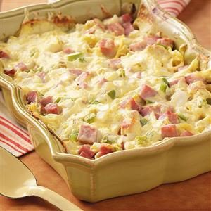 Ham and Swiss Casserole Recipe