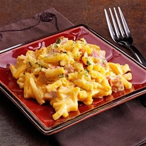 Ham Mac and Cheese