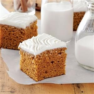 Harvest Pumpkin Brownies Recipe