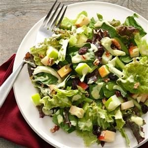 Harvest Salad with Lime-Curry Dressing Recipe