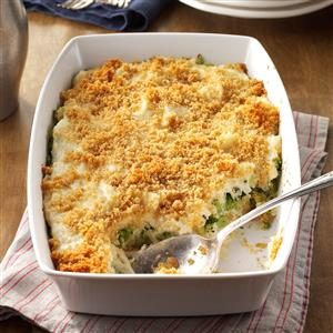 Hash Brown Broccoli Bake