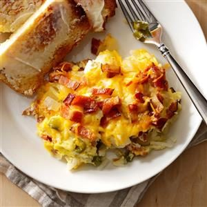 Hash Brown Egg Brunch