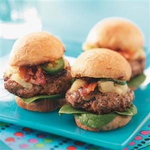 Hawaiian Beef Sliders Recipe