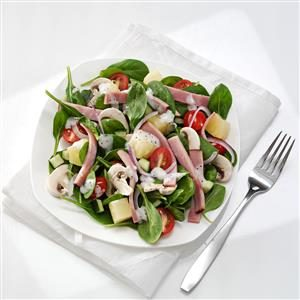 Hawaiian Spinach Salad Recipe