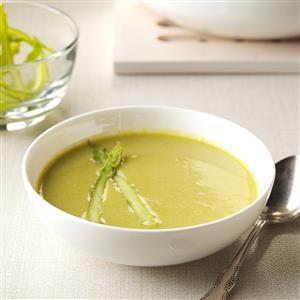hazelnut asparagus soup recipe - Asparagas Soup