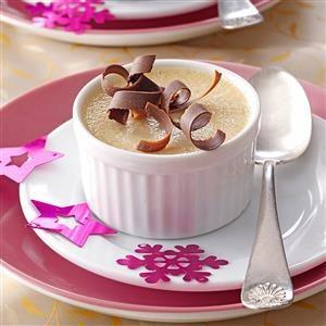 Hazelnut Pots de Creme Recipe