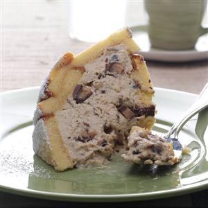 Hazelnut Toffee Zuccotto Recipe