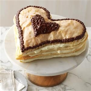 Heart's Delight Eclair Recipe