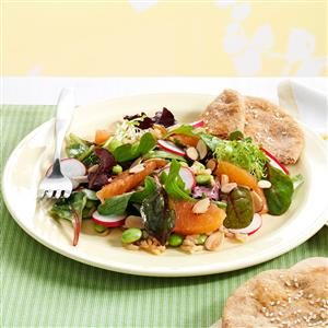 Hearty Asian Lettuce Salad Recipe