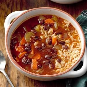 Hearty Black Bean Soup Recipe