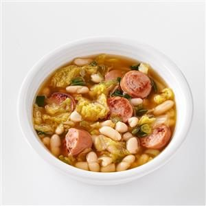 Hearty Cannellini & Sausage Soup Recipe