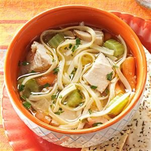 Hearty Homemade Chicken Noodle Soup Recipe
