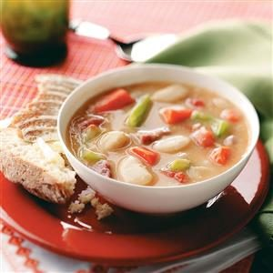 Hearty Lima Bean Soup Recipe