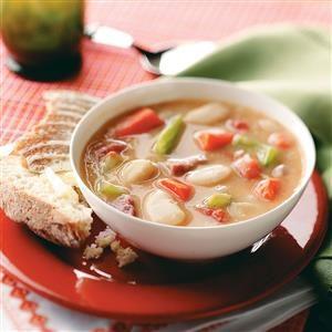 Hearty Lima Bean Soup Recipe