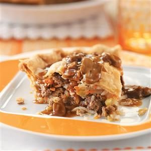 Hearty Meat Pie Recipe