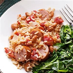 Hearty Sausage 'n' Beans Recipe