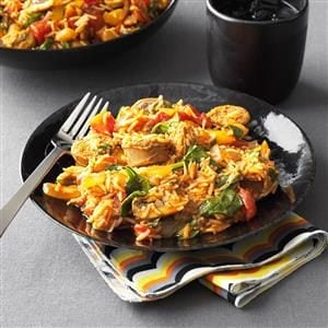 Hearty Sausage and Rice Skillet Recipe