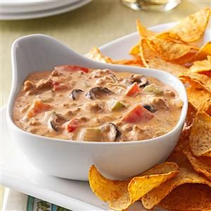 Hearty Taco Dip Recipe