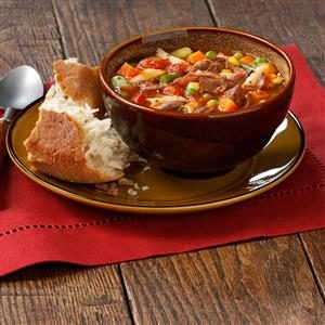 Hearty Vegetable Beef Soup
