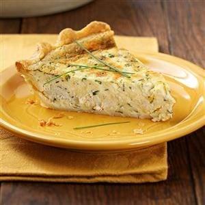 Herb Crab Quiche Recipe
