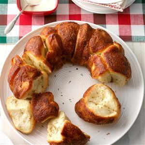Herbed Bubble Bread Recipe