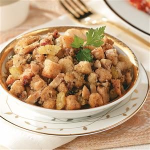 Herbed Chestnut Stuffing Recipe